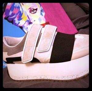 Zara platform sneakers